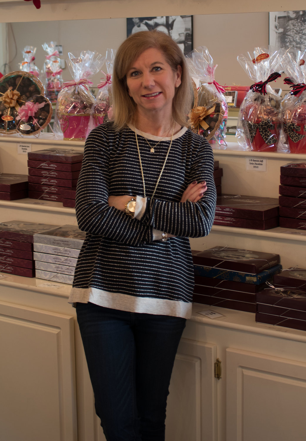 Leading Ladies 2019: Lisa Sweenor Dunham of Sweenor's Chocolates in Wakefield and Garden City