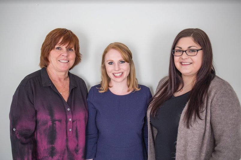 The Leading Ladies at KSA Marketing + Partnerships: Laurie Lewis, Melanie Roberts, Allison Lindgren