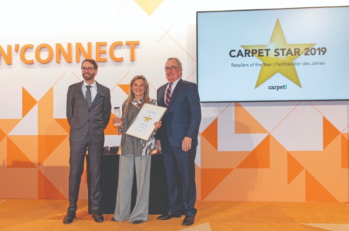 Roz Rustigian of Rustigian Rugs named Carpet Star of 2019