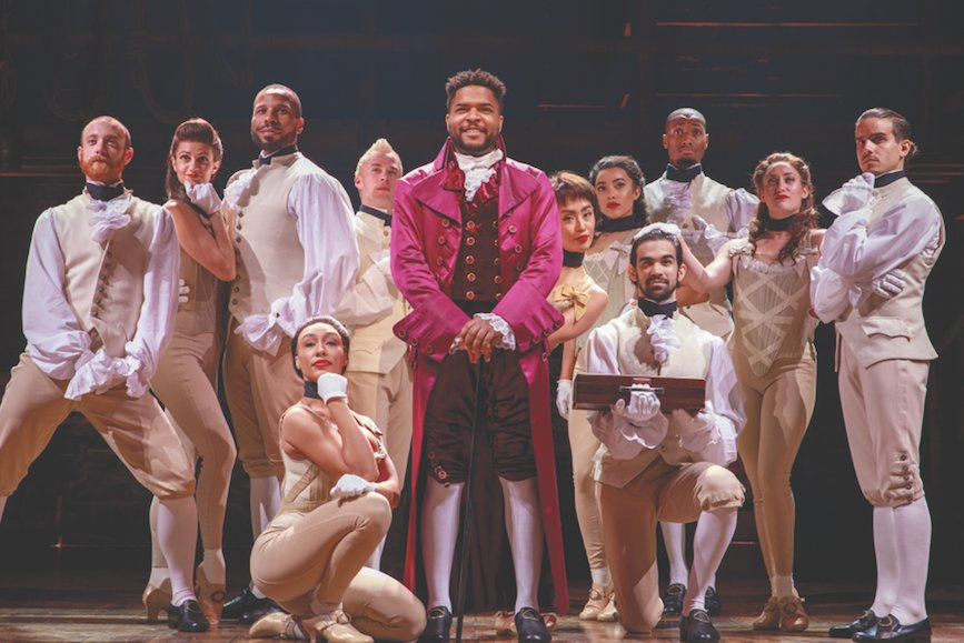 Award-wining musical Hamilton has some Rhody connections, from an essay contest to a scholarship