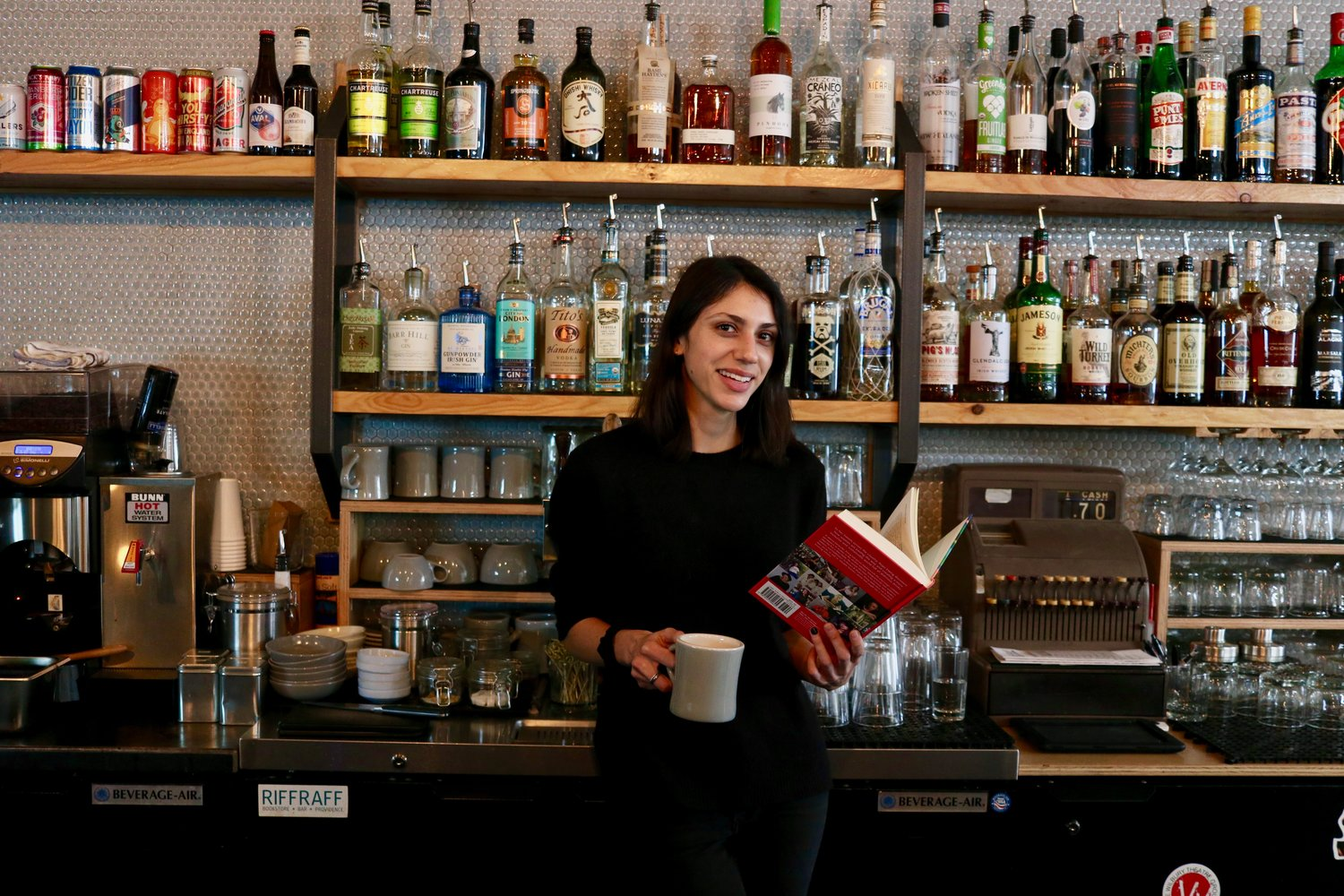 Emma Ramadan and Tom Roberge take great pride in both the books and cocktails they sell at Riffraff