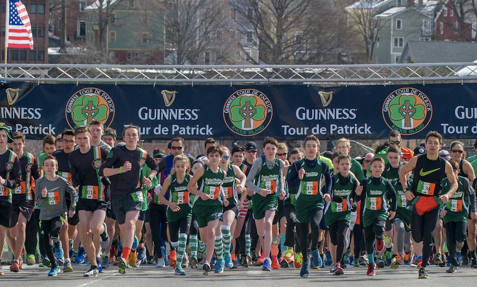 Try your luck at the Guinness St. Patrick's 5k in Providence, March 9