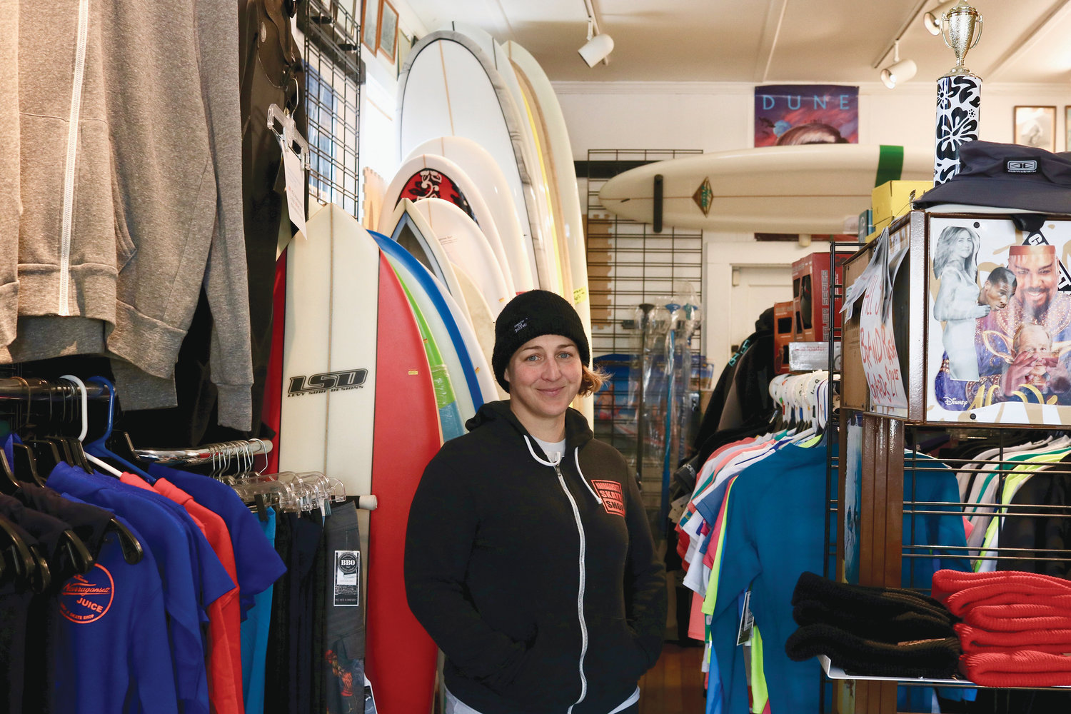 This Narragansett institution has been outfitting surfers for over 50 years