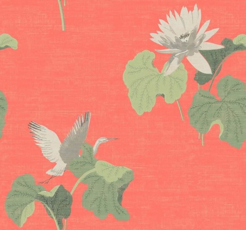 """Sanctuary"" wallpaper from Mayflower Wallpaper"