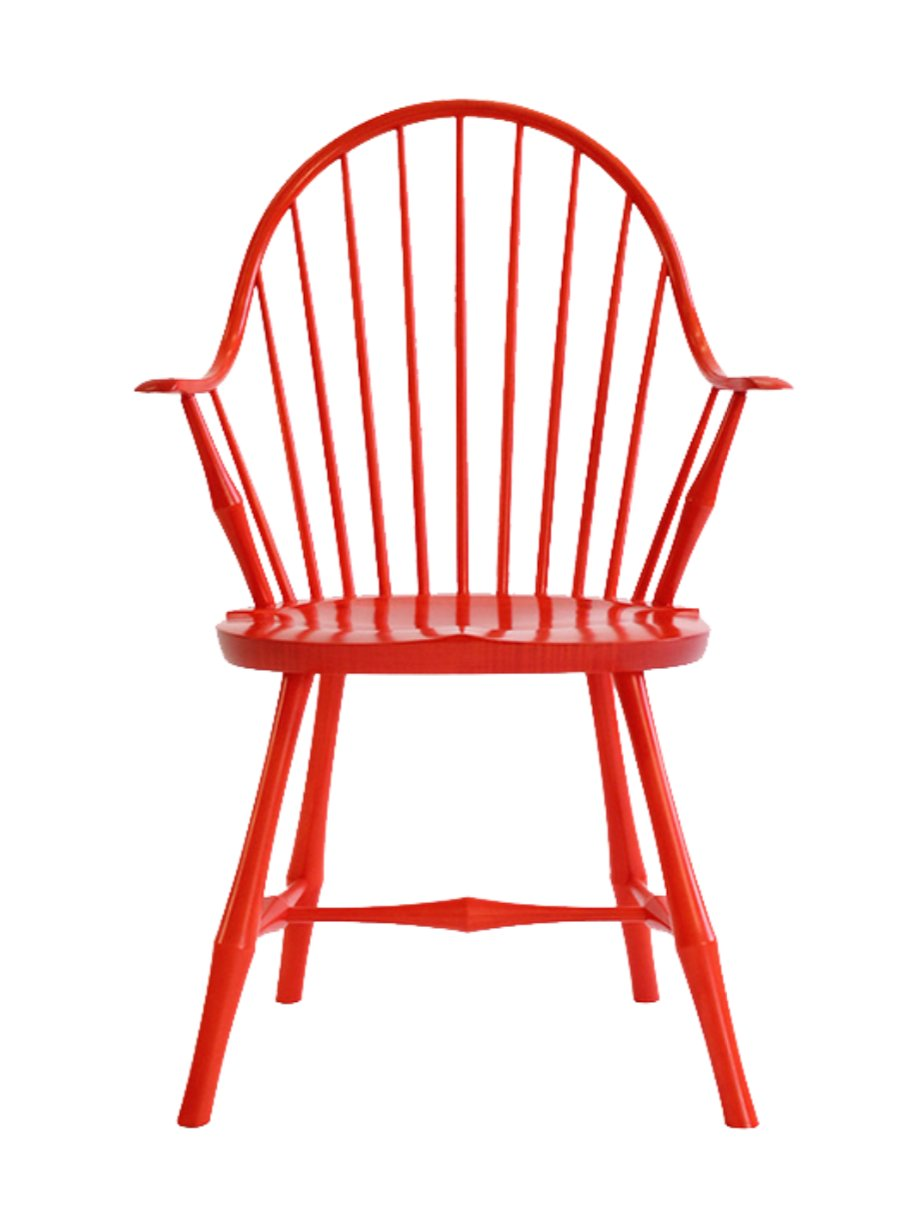 """Wayland"" elbow chair from O&G Studio"
