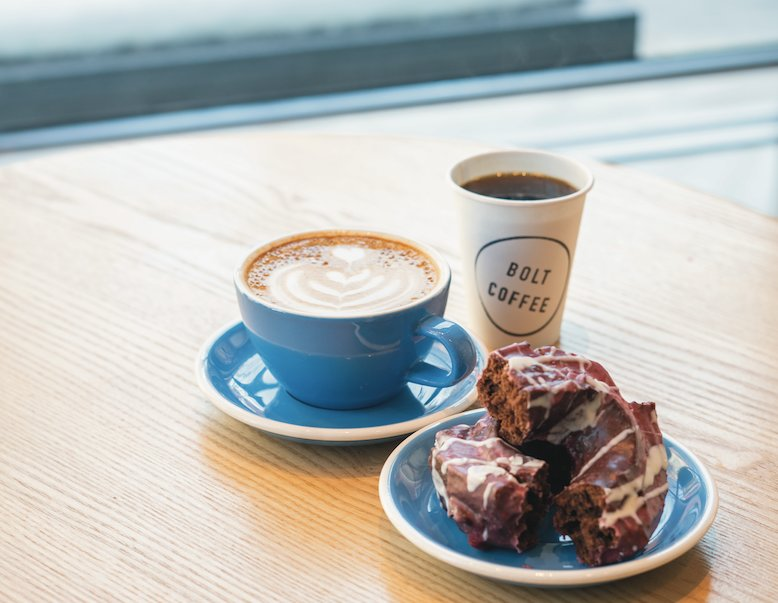 Check out April's featured Rhody Gem; Bolt Coffee inside the RISD Museum