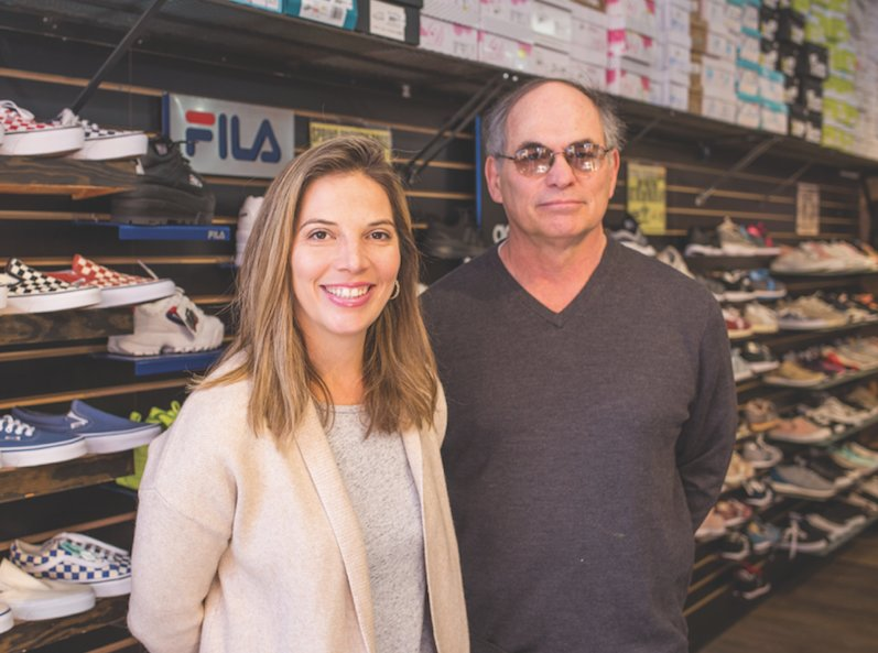 Steven and Lauren Berk keep the family retail tradition alive in