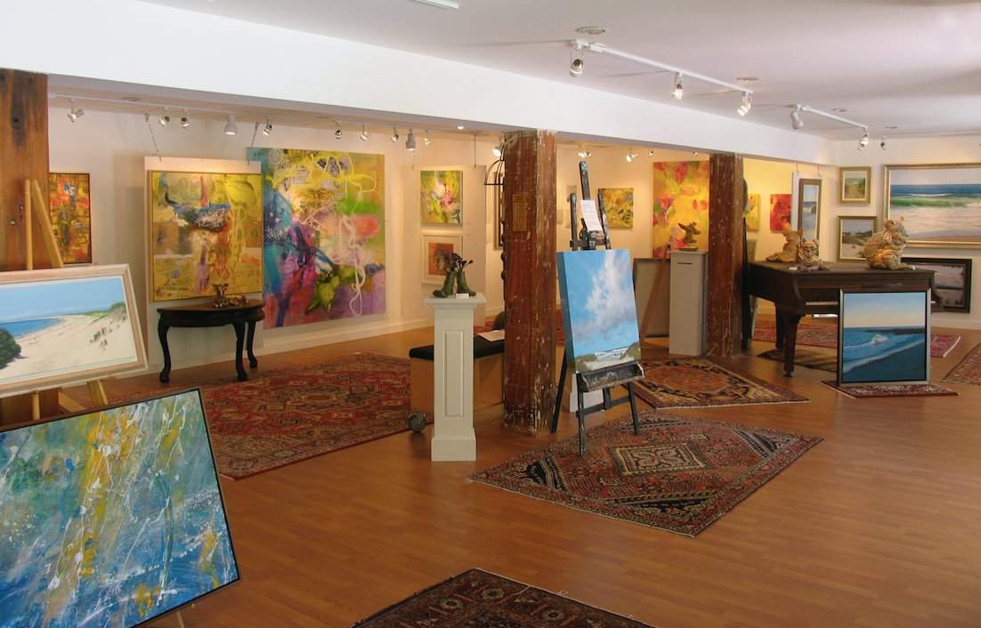 Charlestown Art Gallery is one of the largest in the state – plenty of room to display local talent