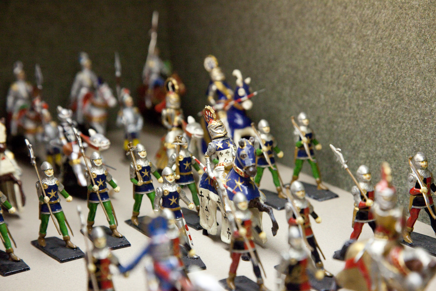 The miniature army of the Anne S.K. Brown Military Collection.