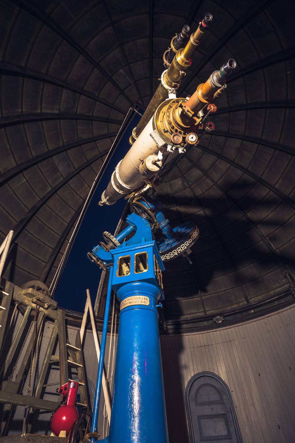 Take a look at the stars through Ladd Observatory's telescope.