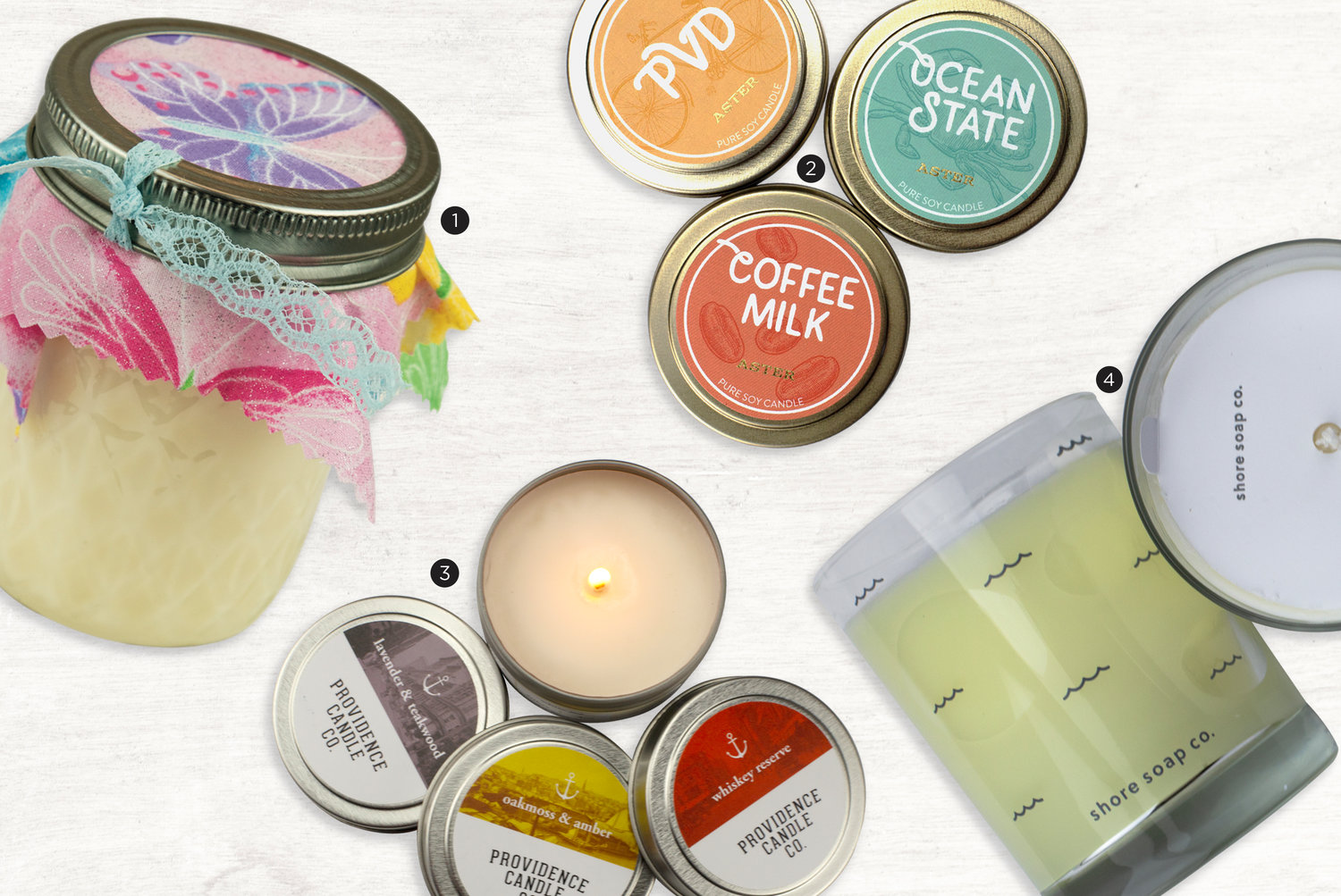 1) Naturally Lou; $10
