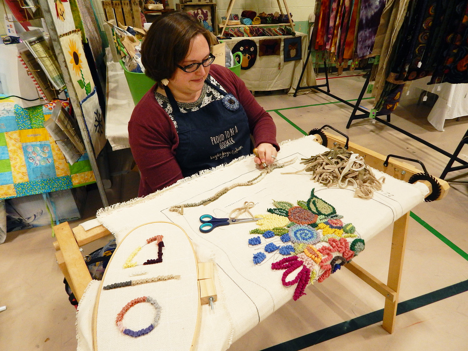 Quilting is more than just your grandma's hobby – it's an art