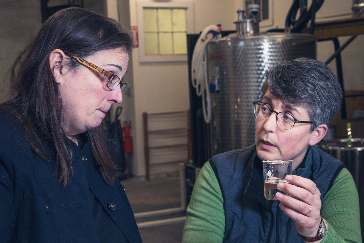 Owners Cathy Plourde and Kara Larson are meticulous about their product and operation