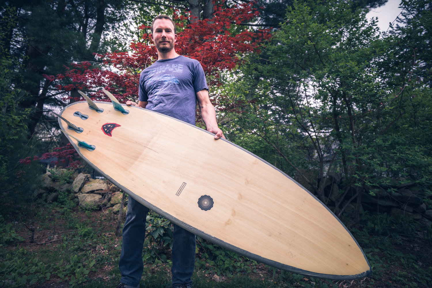 Kevin Cunningham, of Spirare Surfboards