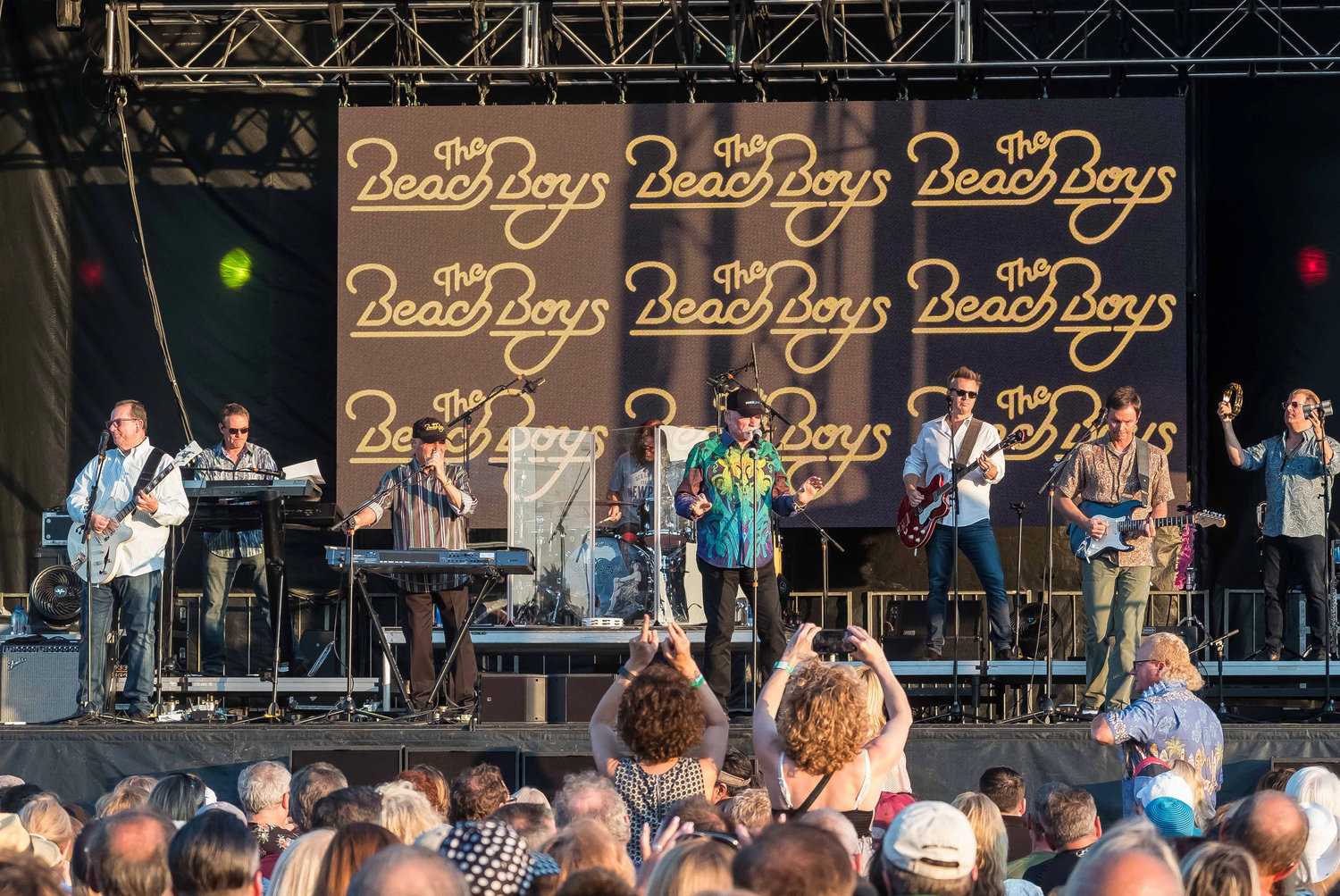 The Beach Boys perform