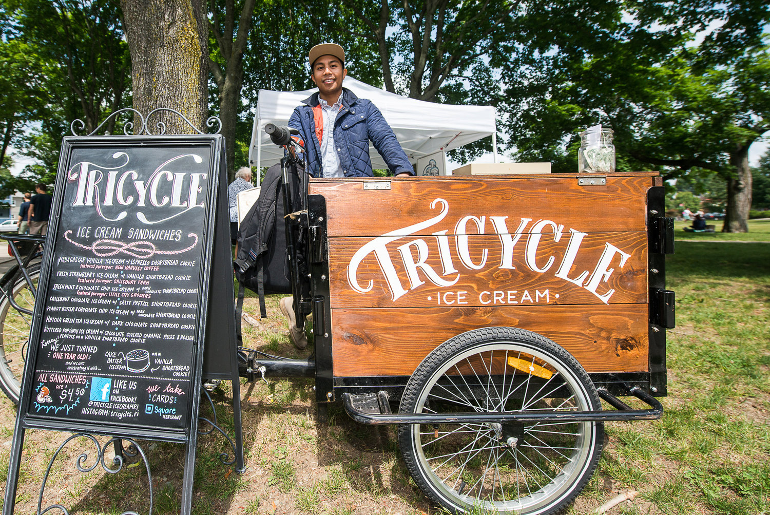 Tricycle Ice Cream