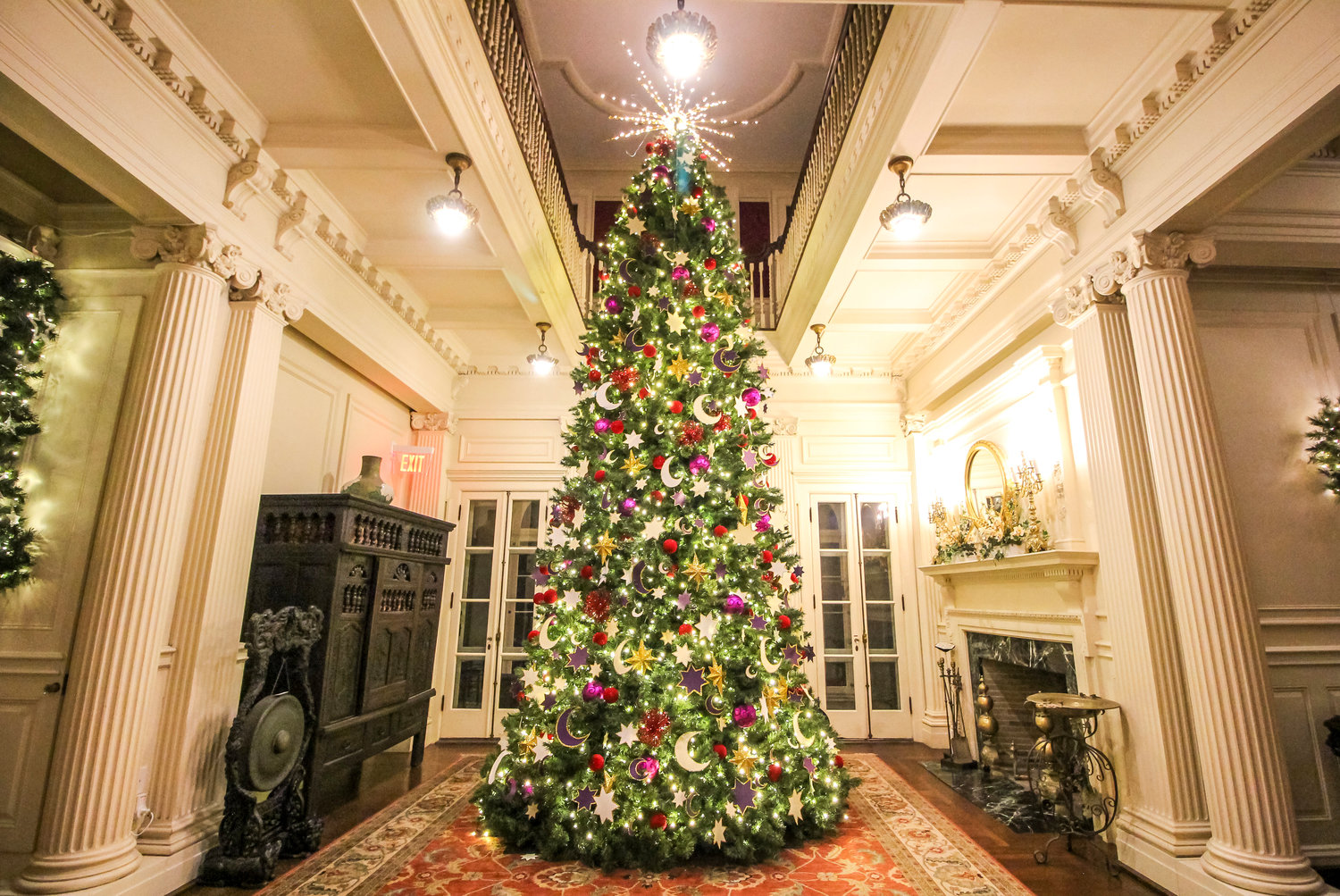 """It was a Van Wickle family tradition to have a tree 'two stories tall' 