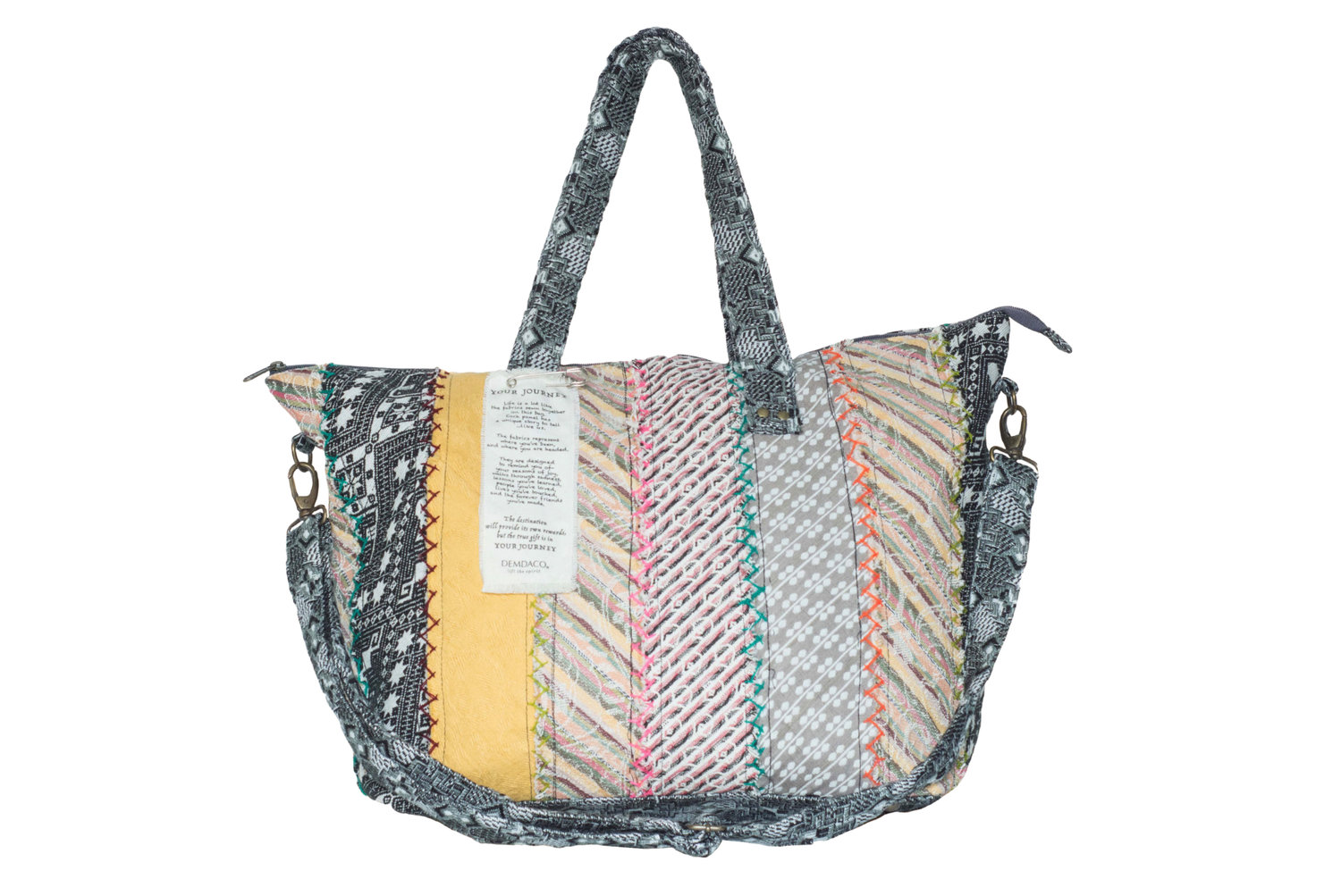 Demdaco Overnight Travel Bag in Multi, $85