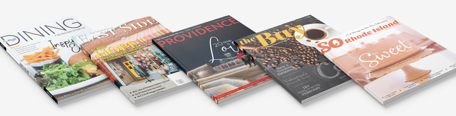 The Providence Media family of free lifestyle magazines