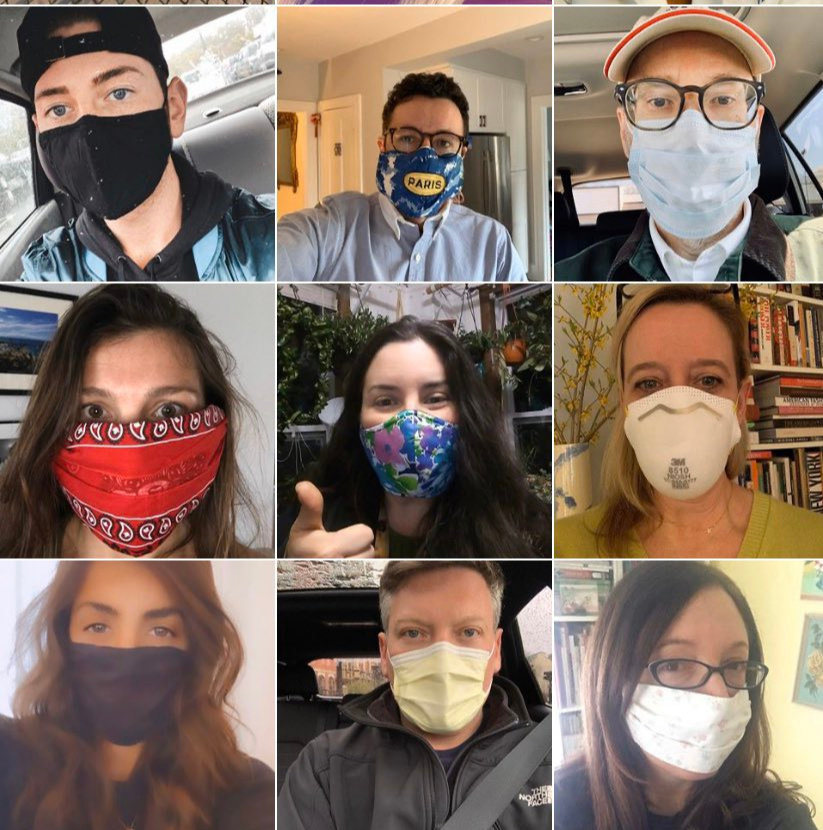 Spotlighting Rhode Islander doing their duty by wearing masks to prevent the spread of COVID-19