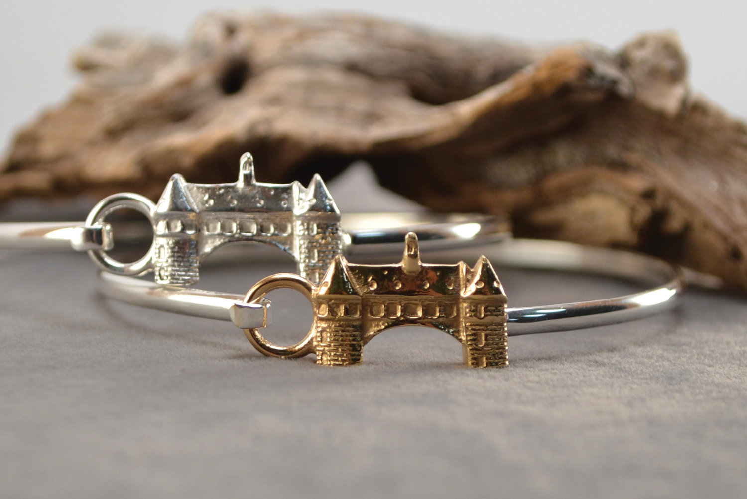 Stylish, artisan, and unique finds (like this Towers bracelet) are aplenty at the The Purple Cow.