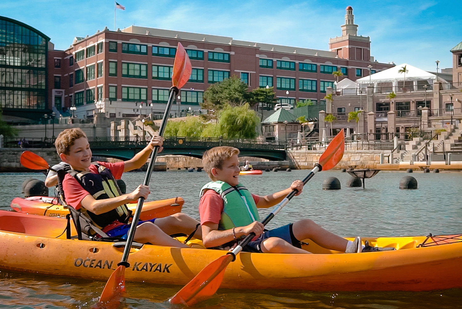 Kayaking in Providence