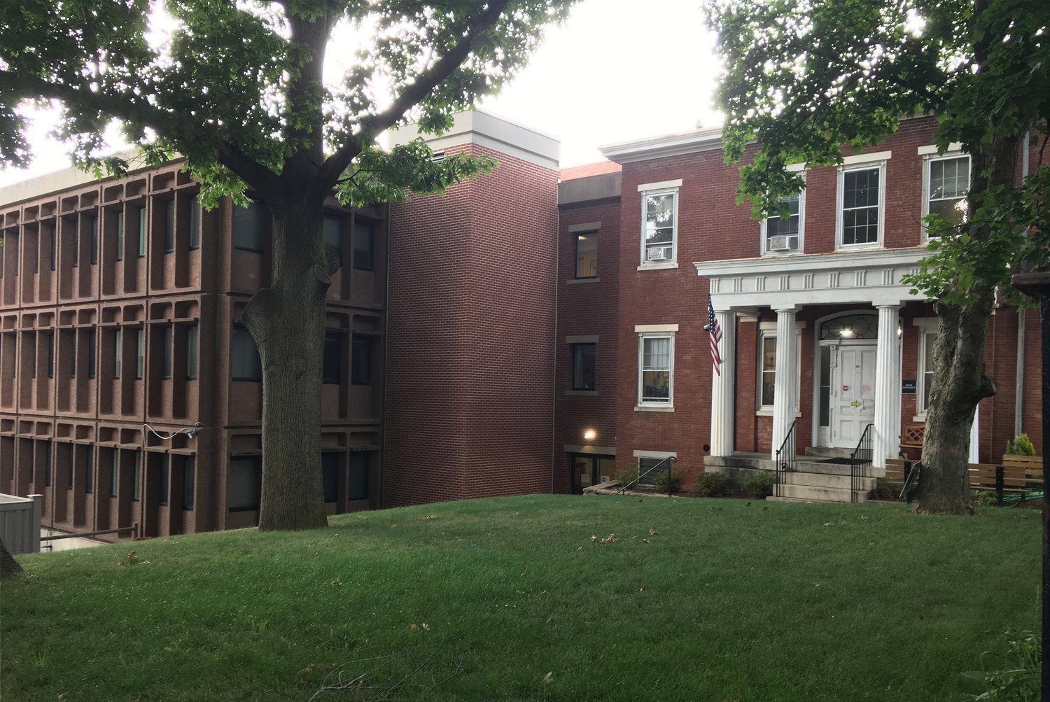 Hallworth House, a 57-bed nursing home on Benefit Street, Providence, plans to close by the end of August. LYNN ARDITI/THE PUBLIC'S RADIO