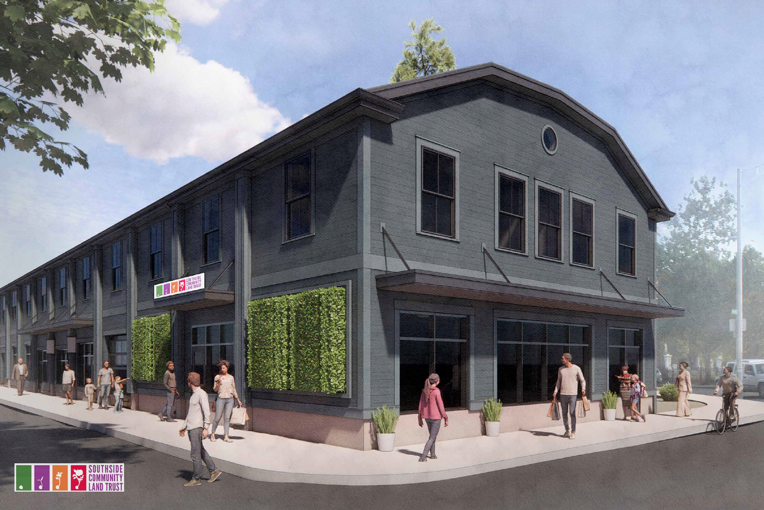 SCLT's new community food hub on Broad Street is slated to open this summer