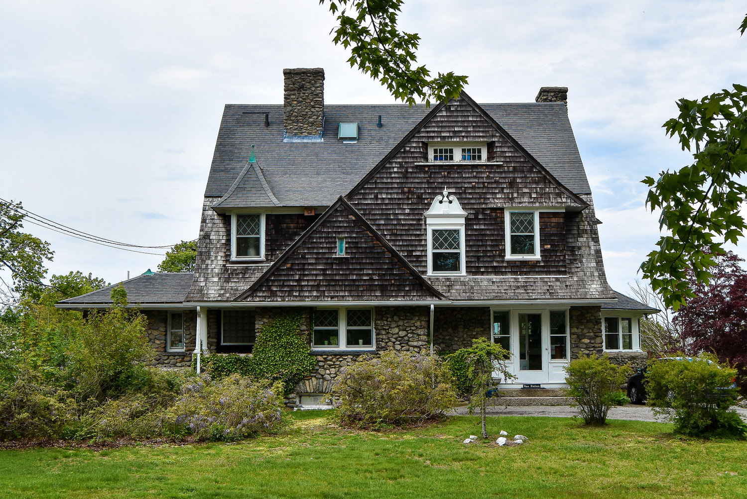 Shingle Style, Newport: Although they can be found throughout the US, shingle style homes feel particularly rooted in New England to me. There's something about a weathered cedar shake with Nantucket blue trim that's an essential part of our vernacular architecture here.