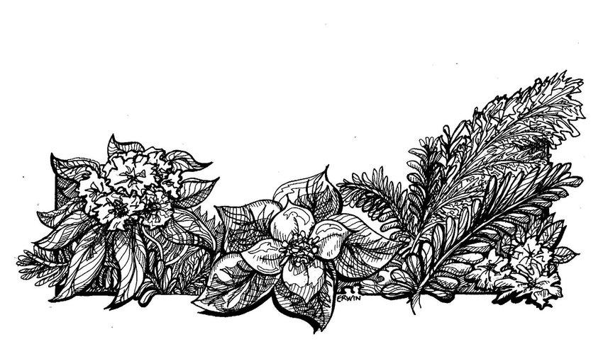 northwest wreath