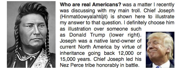 Real Americans: who is one and who's not?