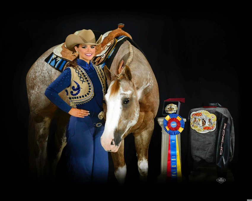 PTHS grad wins world championship for Pinto horses