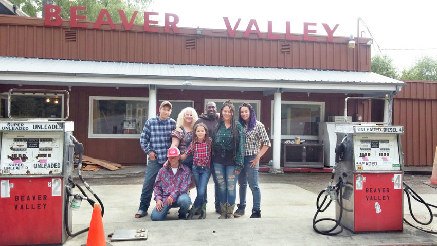 For Brenda and Michael Hill and their kids, fixing up the old Beaver Valley Store as the new shop for their line of candies has been a family affair. Photo by Kirk Boxleitner