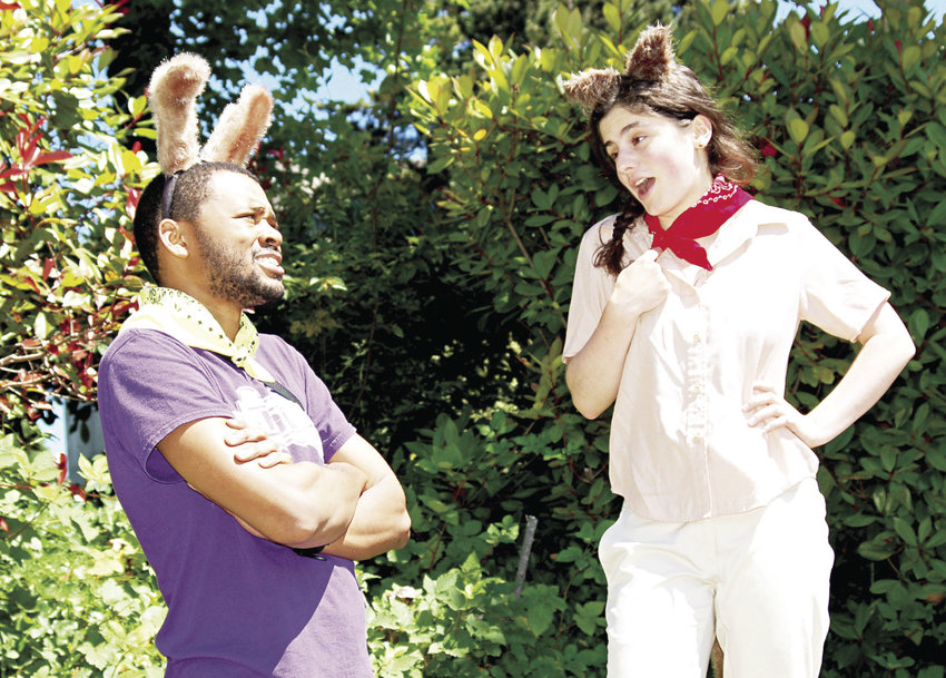 "The Seattle-based 14/48 Projects is touring area parks and festivals with its play ""Coyote Trails,"" including a show set for 2 p.m., Sunday, Aug. 6 at H.J. Carroll Park in Chimacum. Admission to the family show is free. This new play, written by Zoey Cane Belyea and directed by Emily Purington, is adapted from Navajo stories. Coyote Tails embraces the collaborative, improvisational style that The 14/48 Projects has perfected over years of free family performances in the parks, and combines theater veterans and newcomers, according to a press release. Courtesy photo"