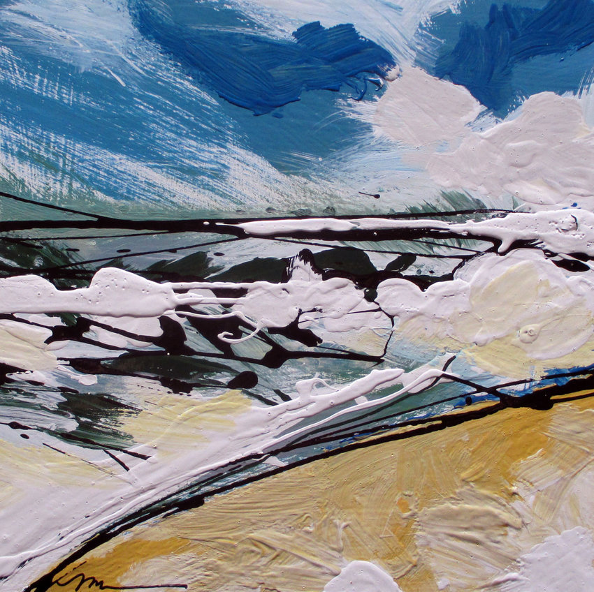 Painting by Meg Kaczyk