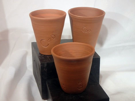 LaughinGnome Pottery is making 200 custom-made wine and cider mugs. Courtesy photo