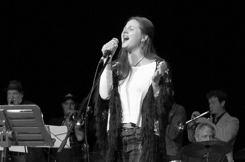 "Samantha Hiatt's performance at KPTZ-FM's Beatles tribute concert, which took place on May 6 and 7, ""blew everybody away,"" said radio station board director Robert Ambrose. ""She was incredible."" Courtesy photo by James Lavery"