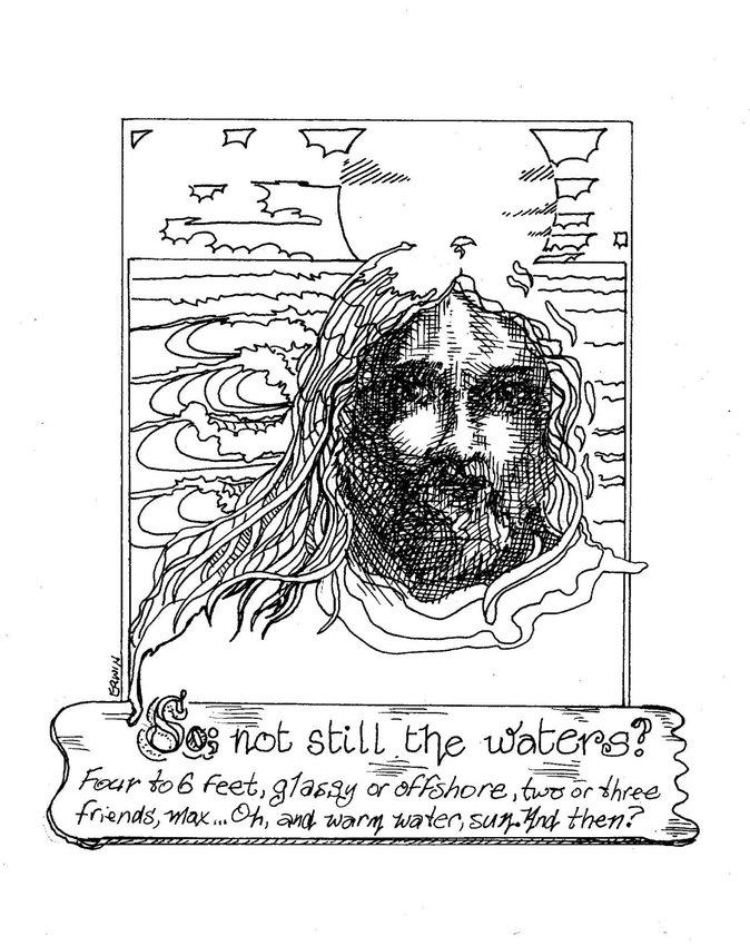 Jesus and surfers' prayers