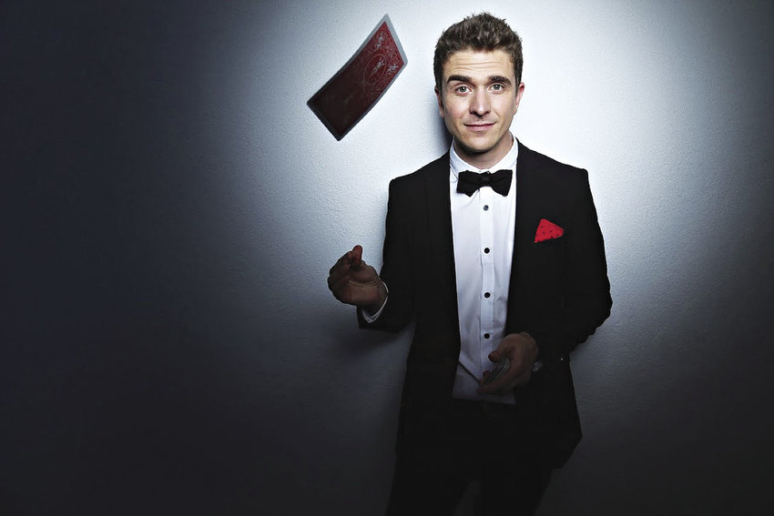 Illusionist Adam Trent presents magic and more in Port Ludlow on Saturday, March 11. Courtesy image