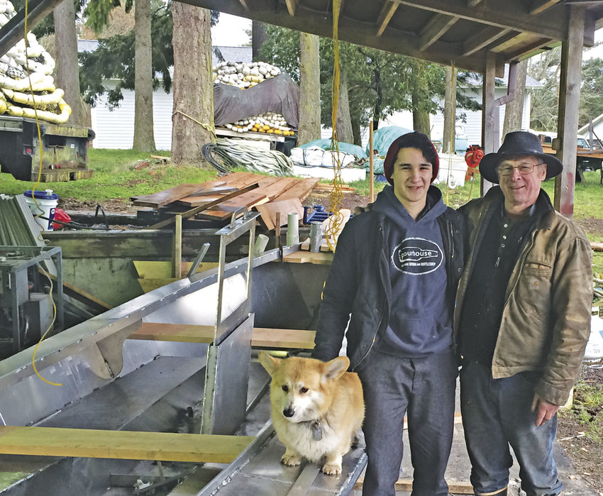 Henry Vietenhans and his dad, Greg Veitenhans, have fished together before, but this year will be the first they plan to row together and be part of Team North to Alaska. Courtesy photo