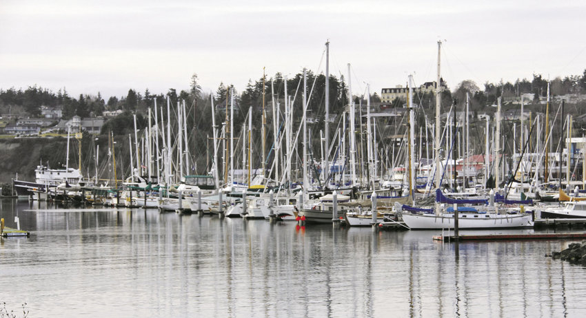 The Port of Port Townsend administration has approved rate increases of between 10 and 16 percent for moorage, launch ramp and RV camping, effective April 1. Port staff is soon to recommend increases for airport and boatyard fees. Photo by Patrick Sullivan