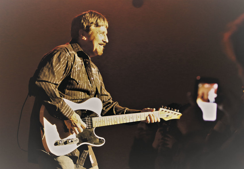 """Bill Wolfe, known as """"The Pickin' Pastor,"""" played professionally back in the 1970s and early '80s, touring with country music legend Merle Haggard. Courtesy photo"""