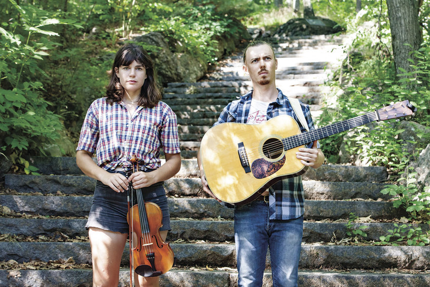 Amy Alvey and Mark Kilianski of Hoot and Holler play at two Quimper Grange events this weekend. An 8 p.m. square dance Saturday, Feb. 11 is followed by a 3 p.m. house concert Sunday, Feb. 12. The Grange is located at 1219 Corona St. Courtesy image