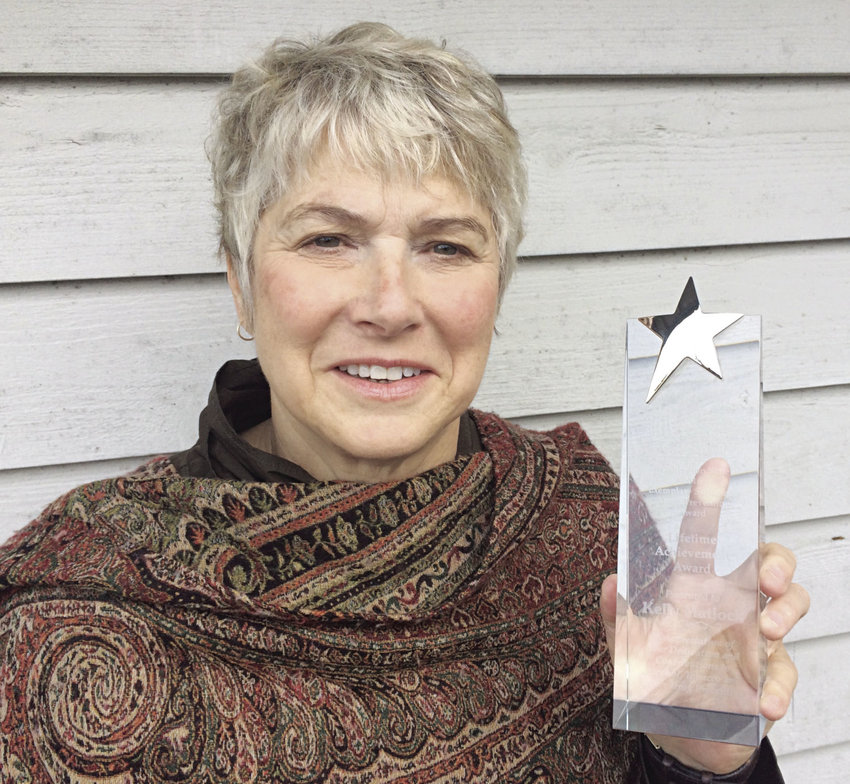 Kelly Matlock was recently honored with a state Department of Social and Health Services Exemplary Lifetime Achievement Award for her substance abuse prevention work in East Jefferson County. Courtesy photo