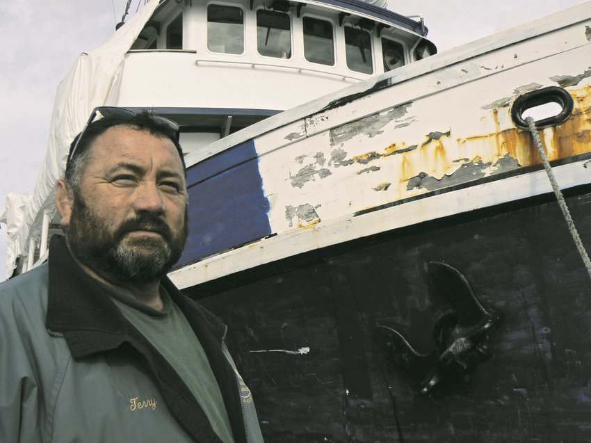 Terry Khile, hoist and yard manager at the Port of Port Townsend, and other port staff have had to deal with the John N. Cobb since February, when the 93-foot vessel was towed there. Its owner abandoned the vessel, which he had obtained in 2015 for $1 from the Seattle Maritime Academy, which is part of Seattle Central College. Leader file photo