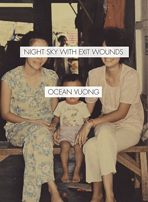 """Published by Port Townsend's Copper Canyon Press, Ocean Vuong's """"Night Sky with Exit Wounds"""" presents poems described as """"visceral, tender and lyrical, fleet and agile,"""" in Whiting Awards' list of 2016 winners. The poetry press in Fort Worden is hosting its annual holiday open house and book sale Friday, Dec. 16. Courtesy image"""