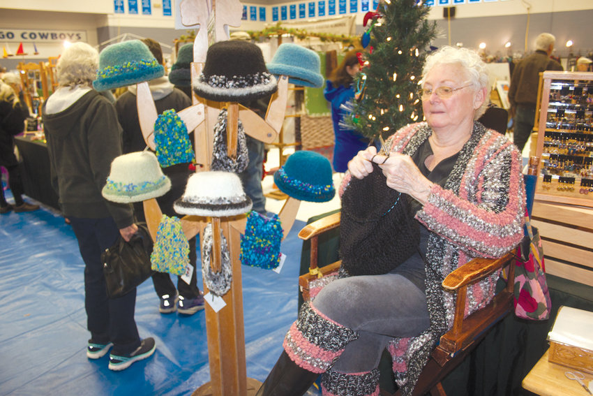 Whidbey Island's Linda Nicol has been making garments out of alpaca fiber for 12 years.