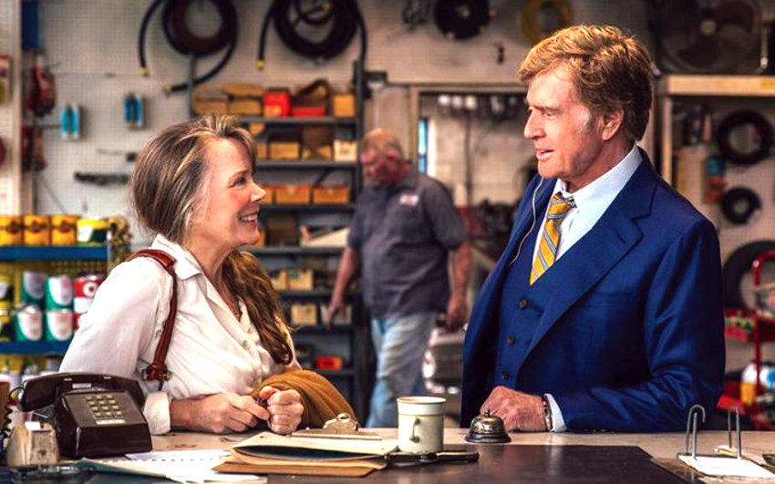 """Sissy Spacek and Robert Redford strike up a courtship in the autumn of their lives in """"The Old Man and the Gun."""""""