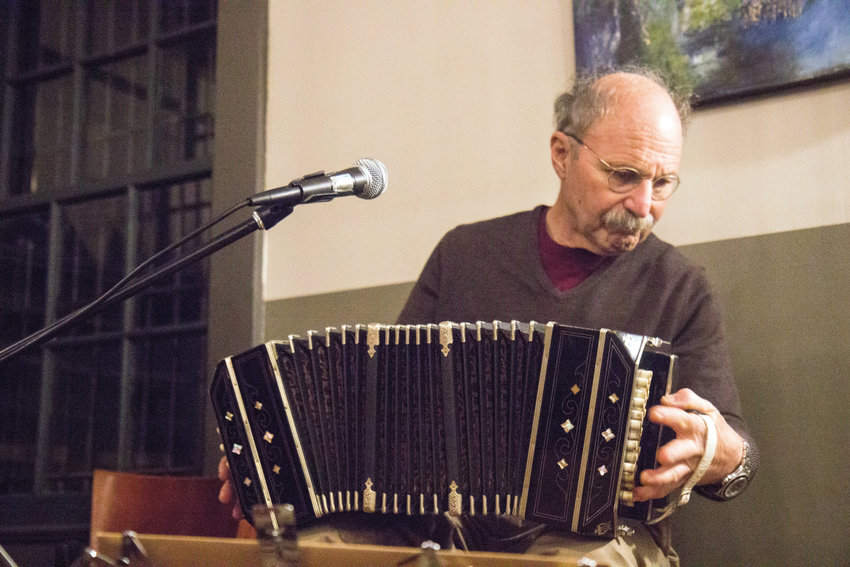 "Levy ""Uncle Bert"" Bertram has performed music live for over 60 years, and has honed his knowledge on the finer points of squeezing the bandoneon — a type of concertina particularly popular in Argentina, Uruguay, and Lithuania."