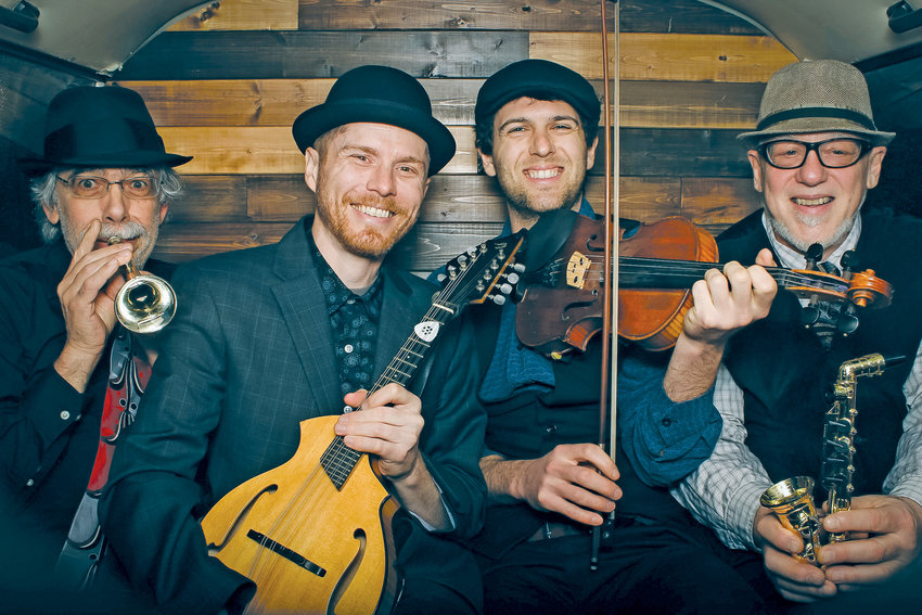 "Ranger and the Re-Arrangers, founded by Ranger Sciacca and his father Michael, specialize in ""Gypsy jazz,"" an upbeat style imported from France."